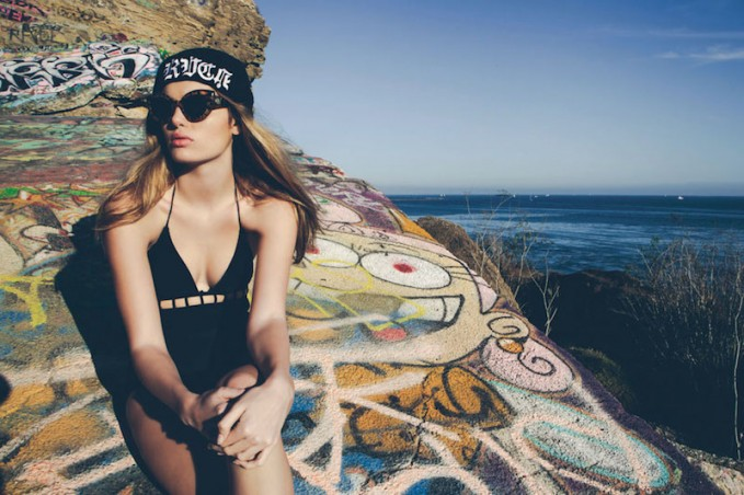 RVCA Velvet Eclipse Swim Collection Lookbook