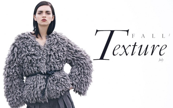 Saks Fifth Avenue Fall Fashion Vol 1: Texture Trend