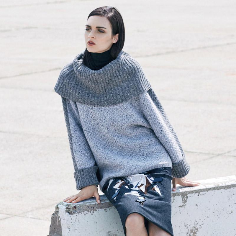 Saks Fifth Avenue Fall Fashion Vol 1: Texture Trend feat. Carolina Herrera