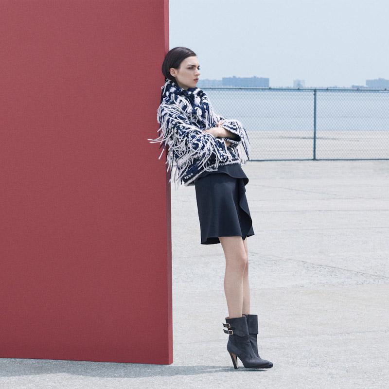 Saks Fifth Avenue Fall Fashion Vol 1: Texture Trend feat. Oscar de la Renta