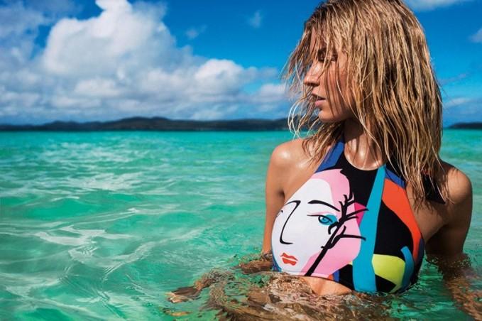 Seafolly Summer 2014 Campaign feat. Martha Hunt