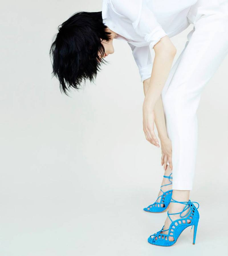 Step To It: Aquazzura Lookbook by Barneys New York