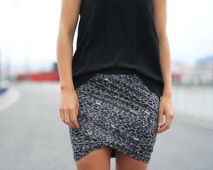 Stine Goya Vision Spotted Mini Skirt