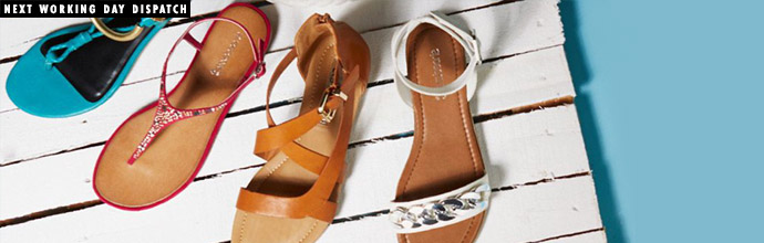 Summer Footwear Clearance at Brandalley