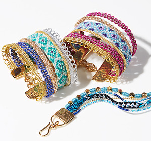 #TBT: Friendship Bracelets Feat. Mercedes Salazar at gilt