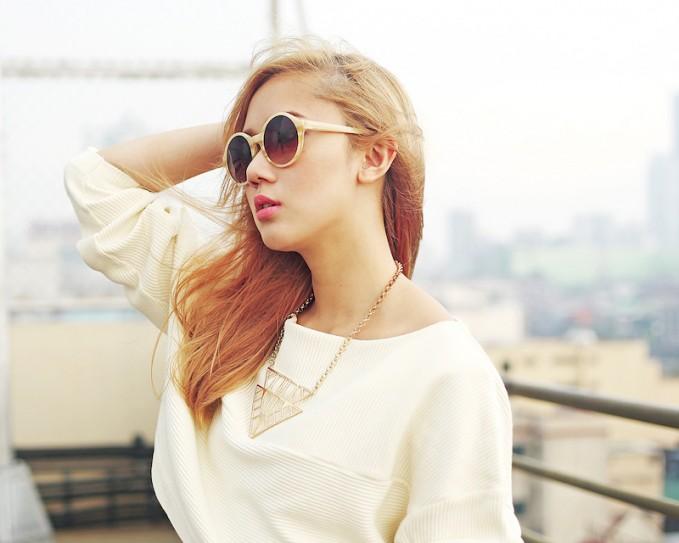 TRIWA Ivory Debbie Sunglasses