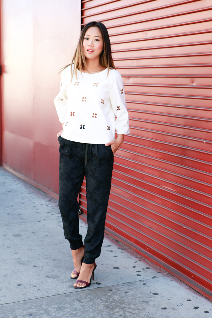 Tibi Pre-Fall 2014 Style Session with Aimee Song