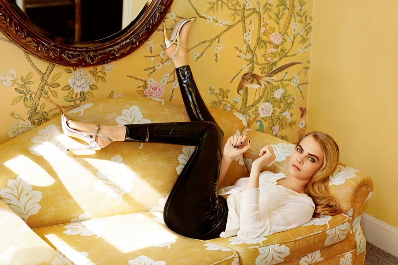 Topshop Fall/Winter 2014 Campaign feat. Cara Delevingne