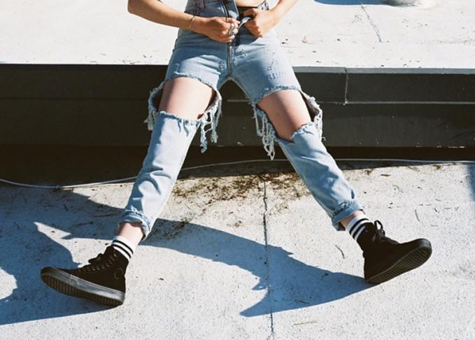 UNIF Twerk Boyfriend Jeans