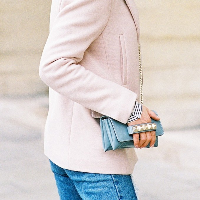Valentino Va Va Voom Small Leather Shoulder Bag