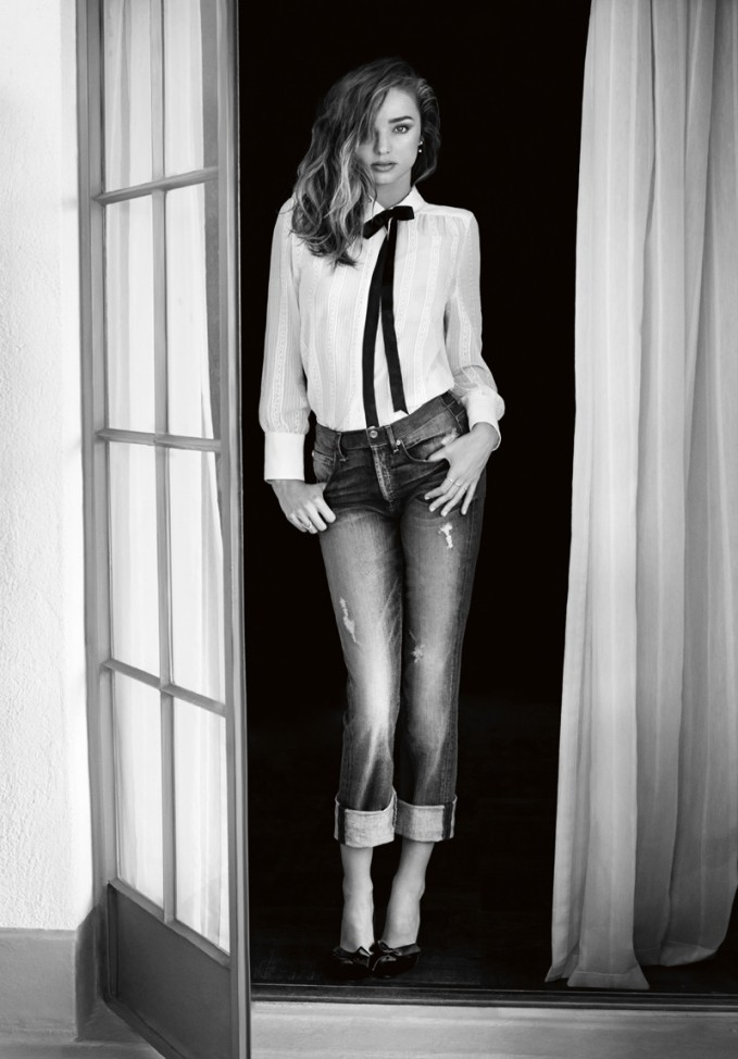 7 For All Mankind Fall Winter 2014 Campaign feat. Miranda Kerr