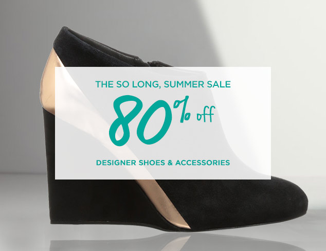 80% Off: Designer Shoes & Accessories at MYHABIT