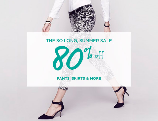 80% Off: Pants, Skirts & More at MYHABIT