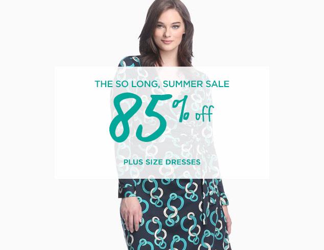 85% Off: Plus Size Dresses at MYHABIT