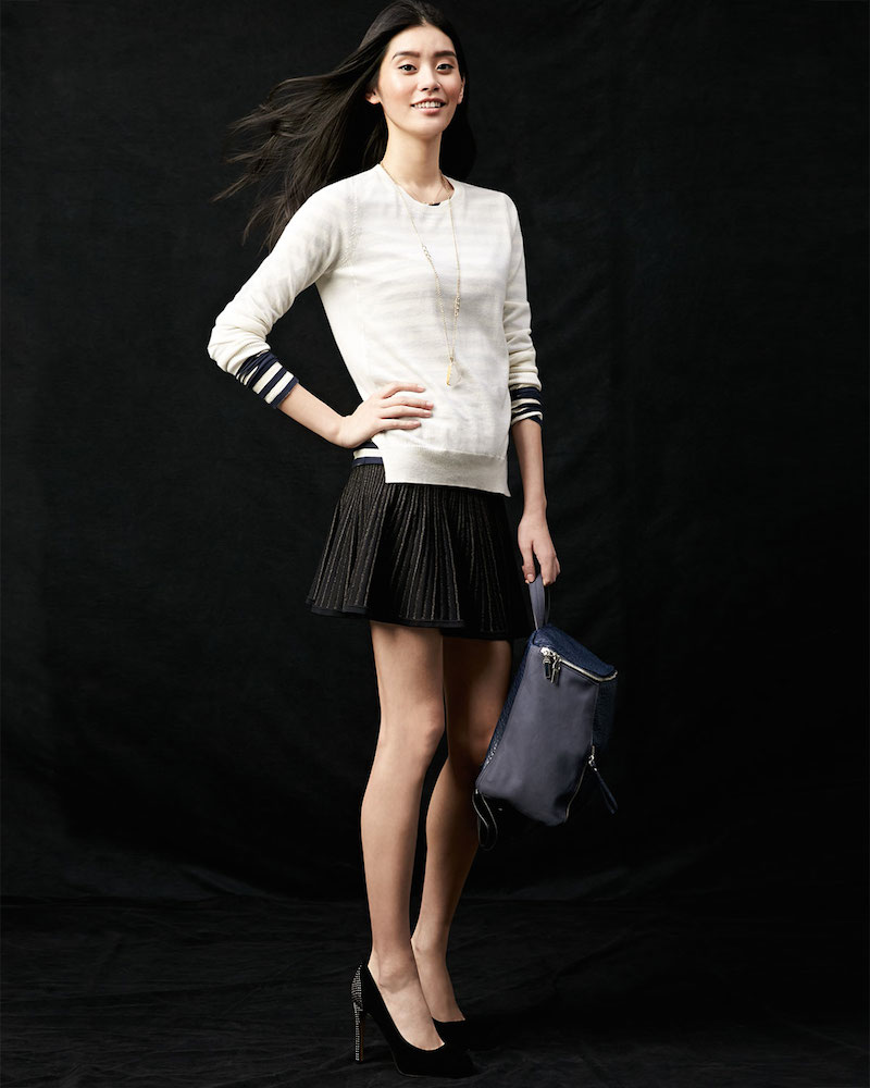 A.L.C. Street Stretch A-Line Skirt