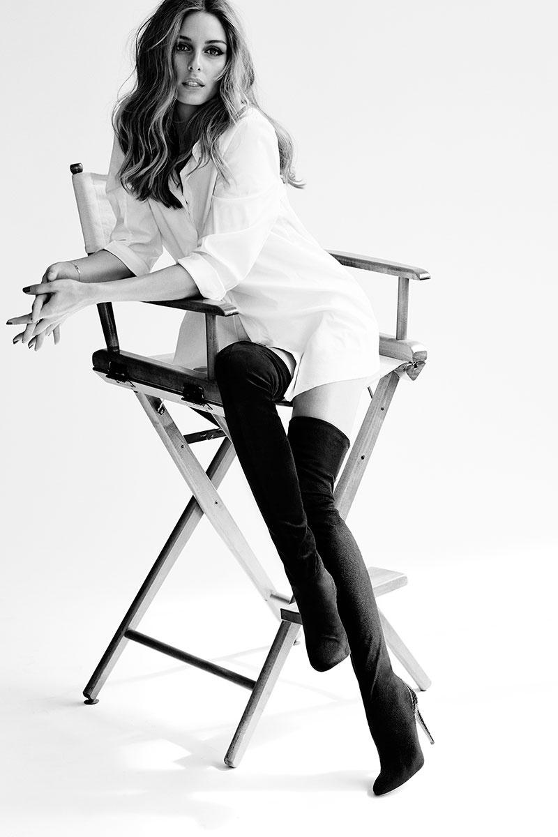 AQUAZZURA x Olivia Palermo Statement Boot