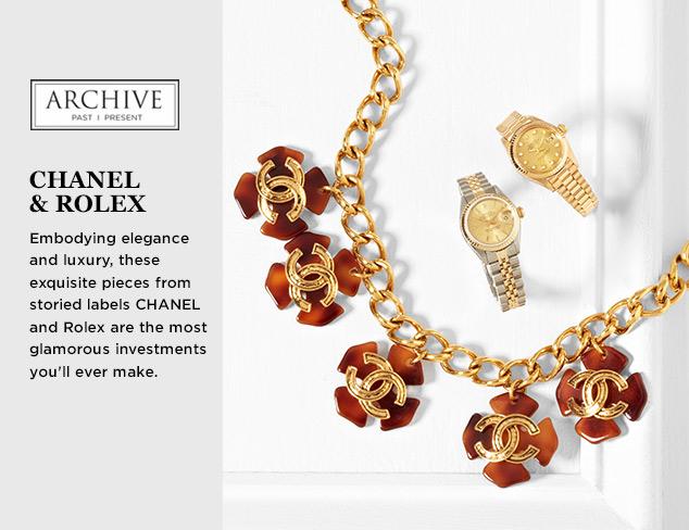 ARCHIVE: CHANEL & Rolex at MYHABIT