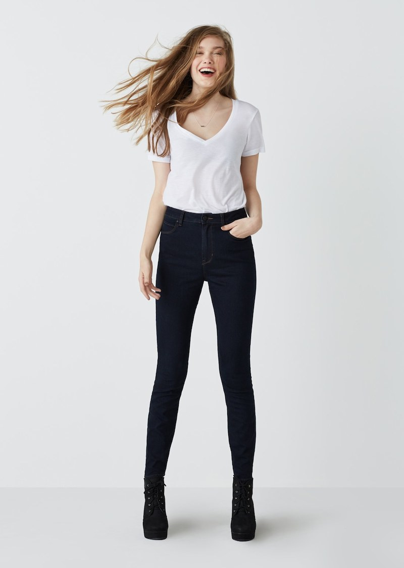 Articles of Society Halley High Waist Stretch Skinny Jeans
