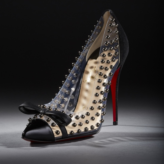 Christian Louboutin Bille Et Boule Studded Pumps