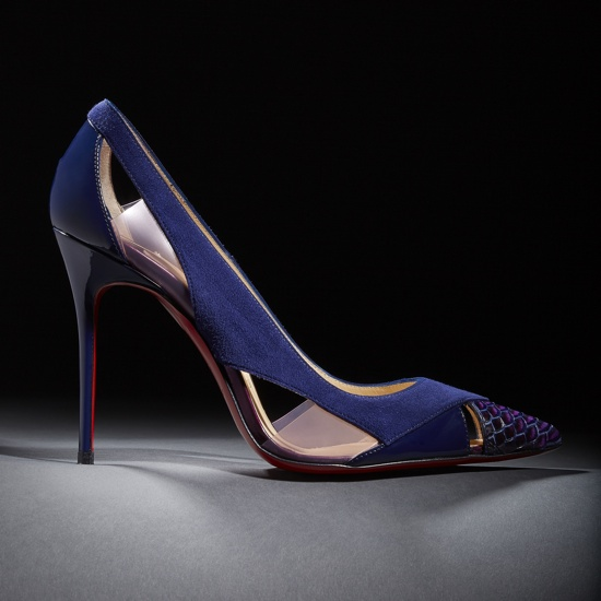 Christian Louboutin Cutout Galata Pumps