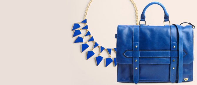 Color Spotting: Blue Trend at Belle & Clive