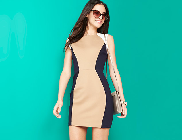 Colorblocked: Dresses & More at MYHABIT