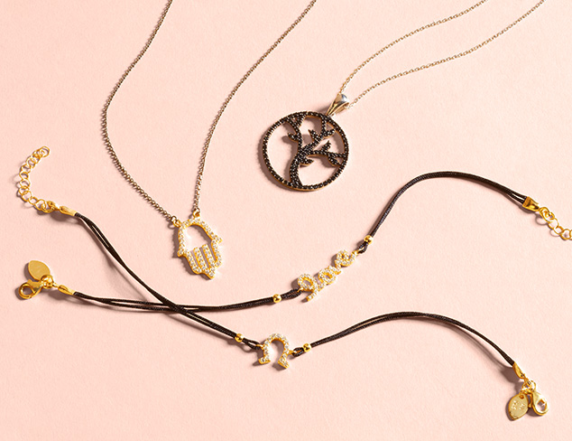 Delicate & Dazzling: Earrings, Necklaces & More at MYHABIT