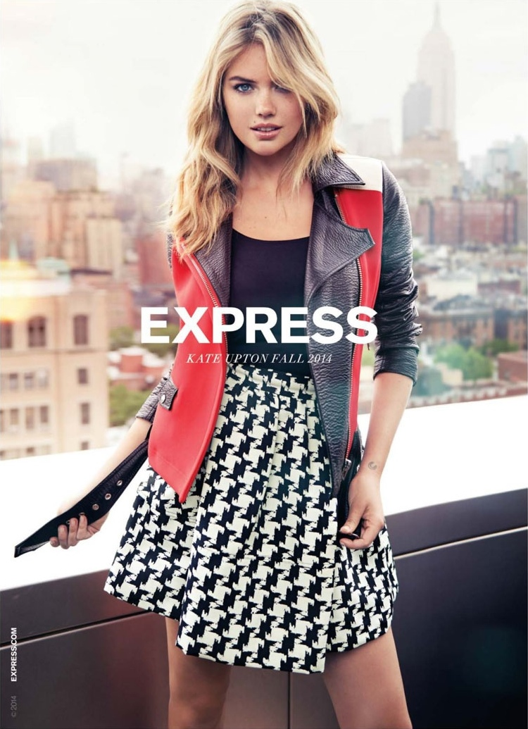 EXPRESS Fall 2014 AD Campaign feat. Kate Upton_2