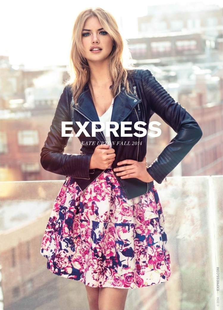 EXPRESS Fall 2014 AD Campaign feat. Kate Upton_3
