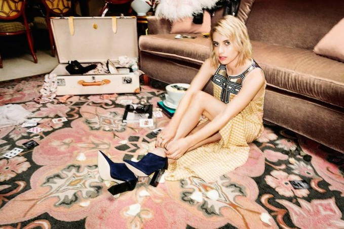 Emma Roberts' Style Diary feat. Jimmy Choo Fall Winter 2014 Collection