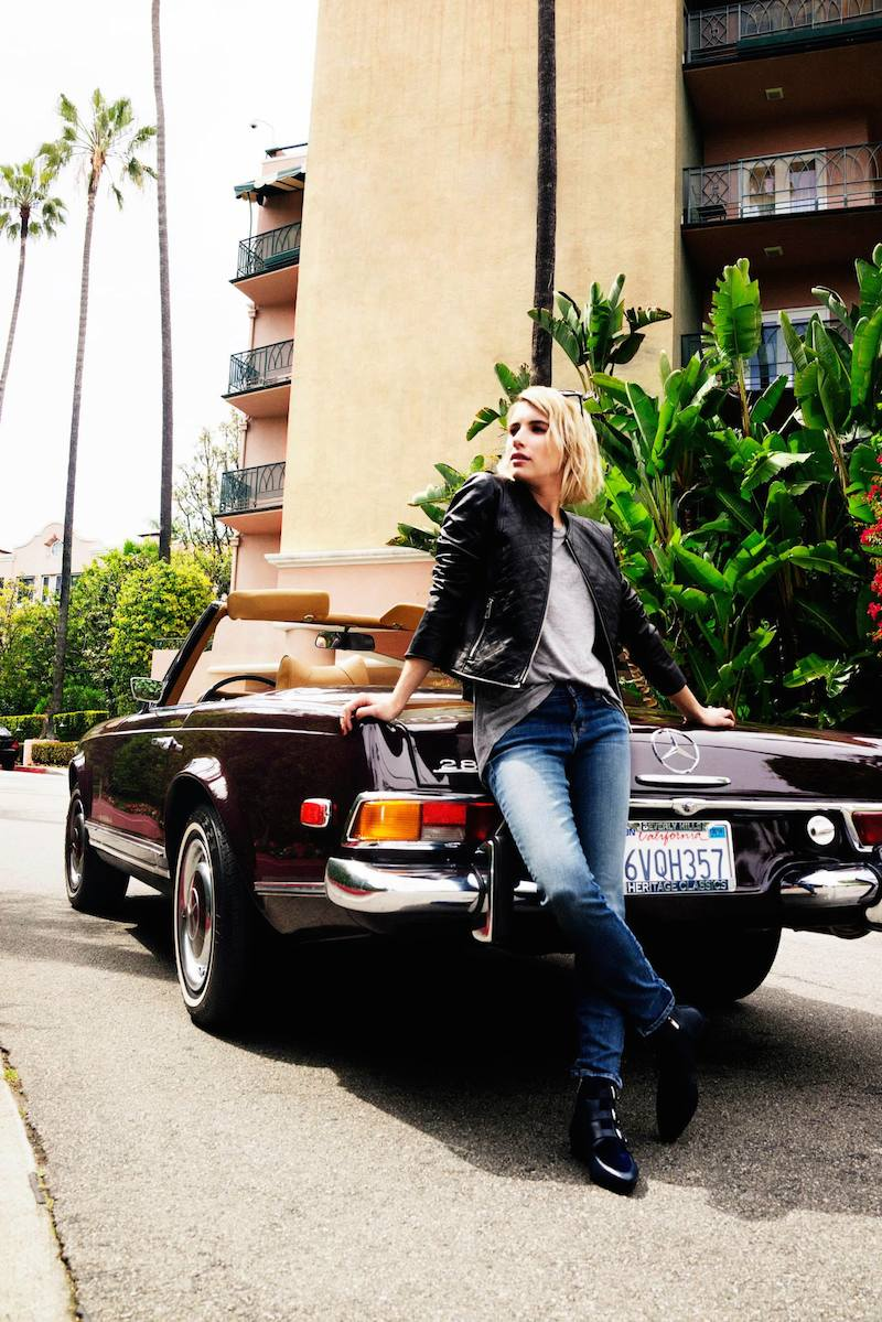 Emma Roberts' Style Diary feat. Jimmy Choo Fall Winter 2014 Collection_3