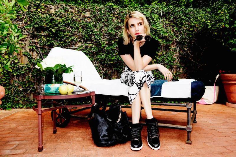 Emma Roberts' Style Diary feat. Jimmy Choo Fall Winter 2014 Collection_4