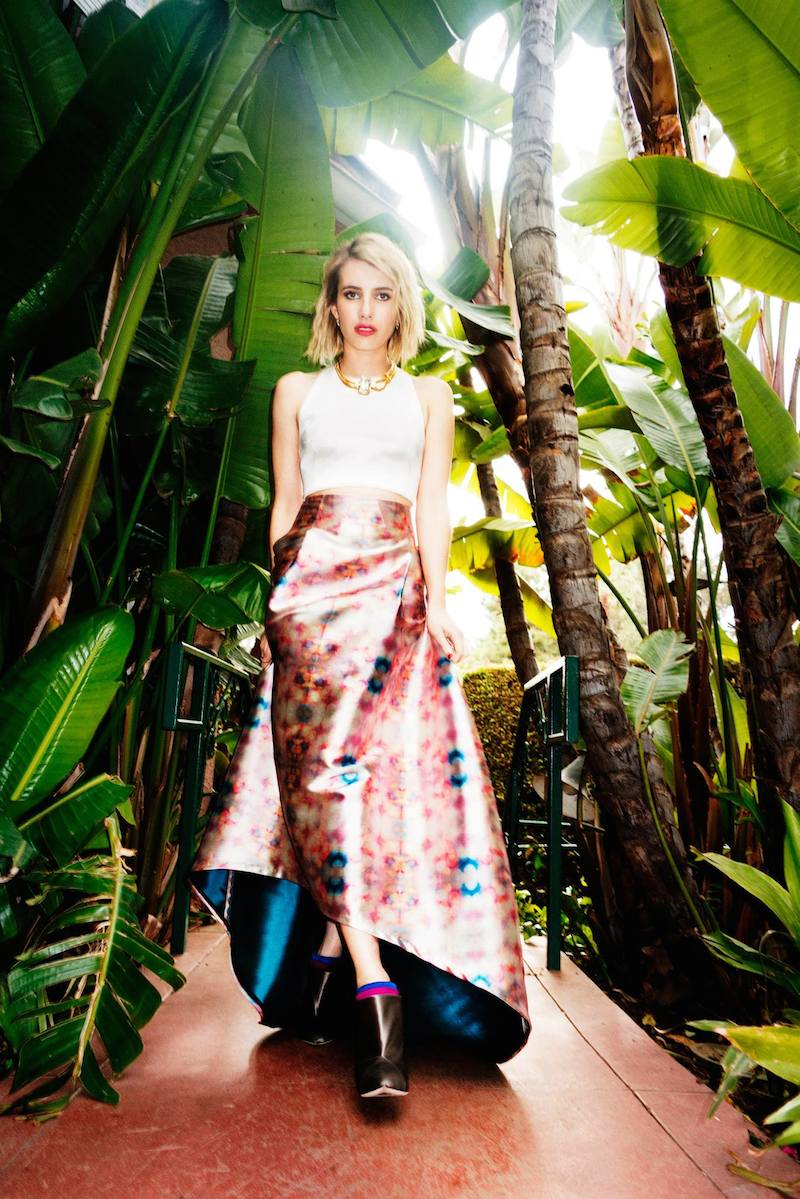 Emma Roberts' Style Diary feat. Jimmy Choo Fall Winter 2014 Collection_5