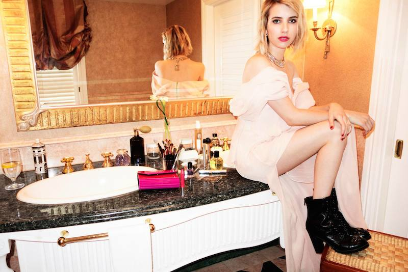 Emma Roberts' Style Diary feat. Jimmy Choo Fall Winter 2014 Collection_7