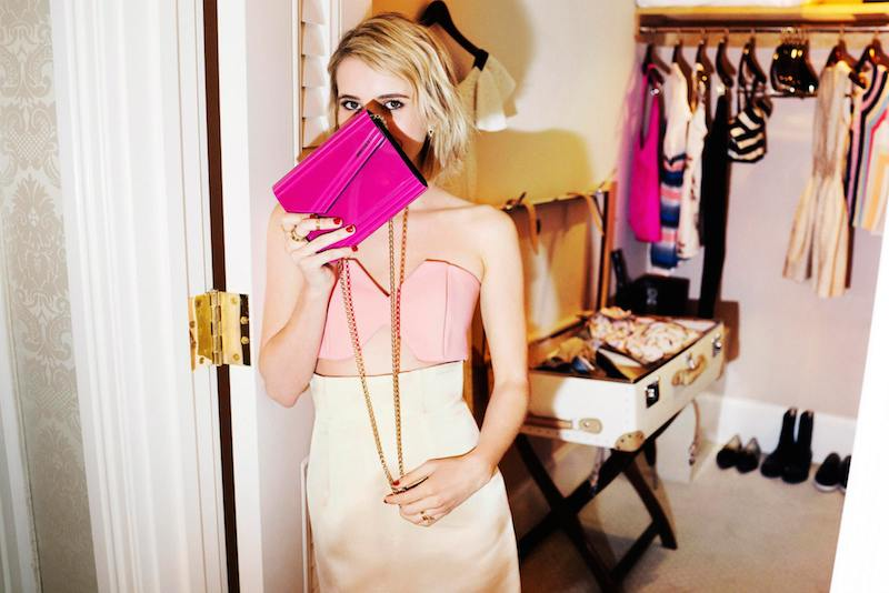 Emma Roberts' Style Diary feat. Jimmy Choo Fall Winter 2014 Collection_8