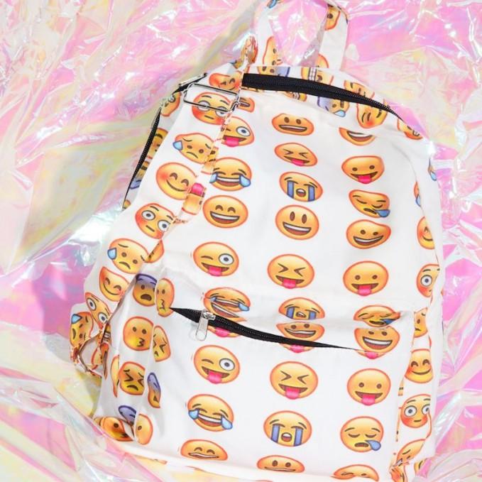 Emoji-nal Backpack by Nasty Gal