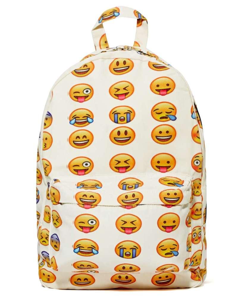 Emoji Nal Backpack By Nasty Gal Nawo