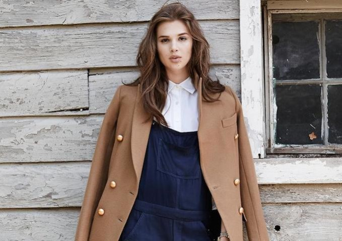Fall Colors Camel & Navy Trends Lookbook by SHOPBOP