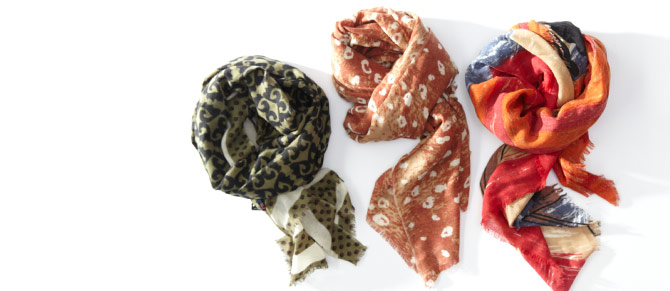 Fall Preview: Scarves at Belle & Clive
