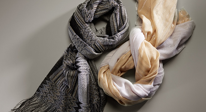 Fall-Ready Scarves at Gilt