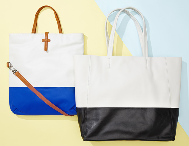 High Contrast: Colorblock Handbags at MYHABIT