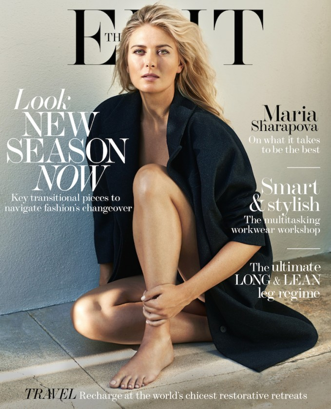Holding Court: Maria Sharapova for The EDIT