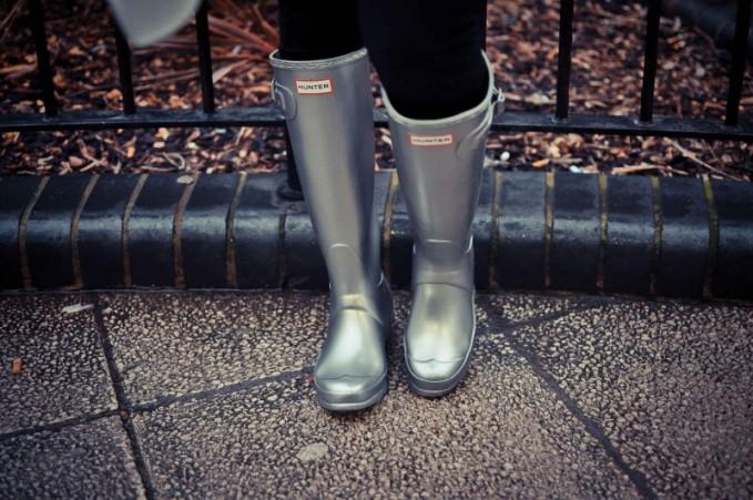 Hunter Original Metallic Rain Boots