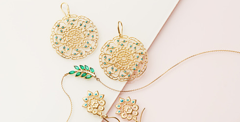 Jewelry by Eddera & Indulgems at Gilt