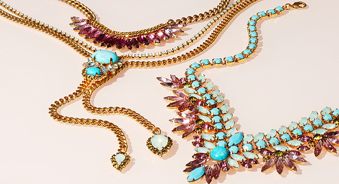 Jewelry by Elizabeth Cole & Suzanna Dai at Gilt