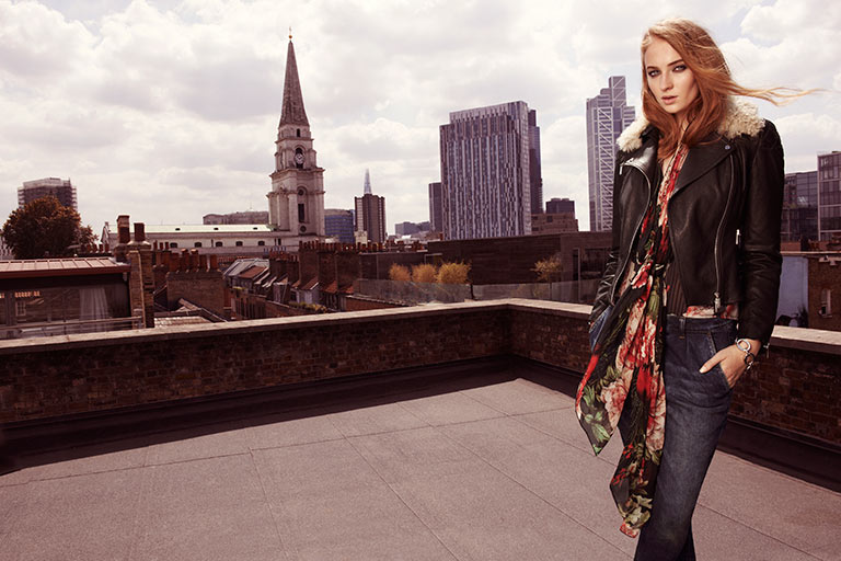 Karen Millen Fall/Winter 2014 Campaign feat. Sophie Turner
