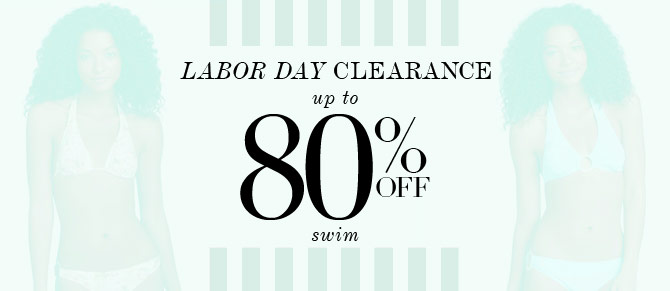 Labor Day Clearance at Belle & Clive