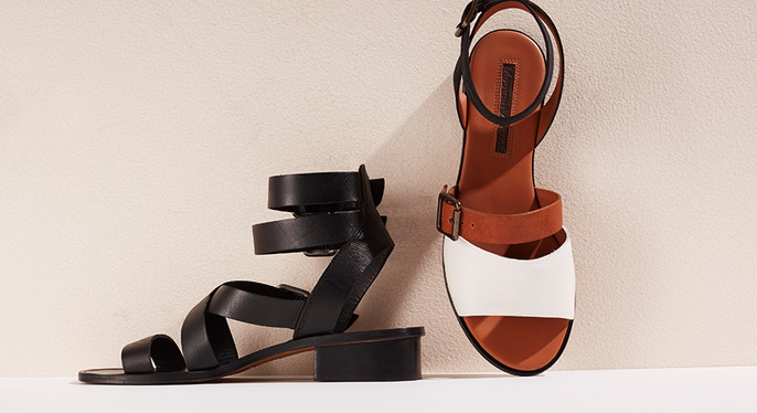 Last Chance: Flat Sandals at Gilt