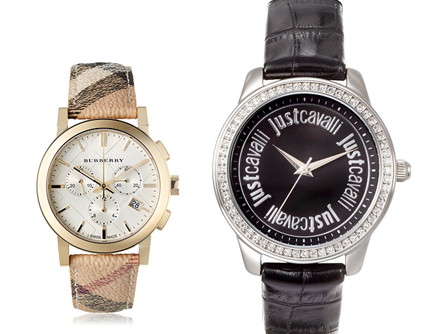 Luxe Designer Watches feat. Just Cavalli at MYHABIT