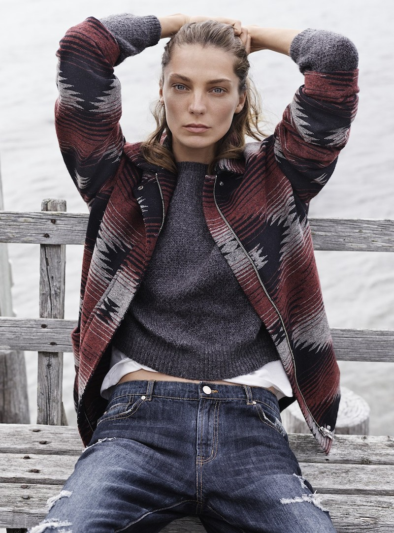 MANGO Fall 2014 Catalogue feat. Daria Werbowy_11